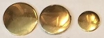 Brass 	Flat	Medium - 23mm