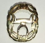 Fancy Oval Shoe Buckle