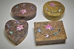 Soapstone Boxes - Set of 4