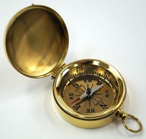 Pocket Compass with Lid